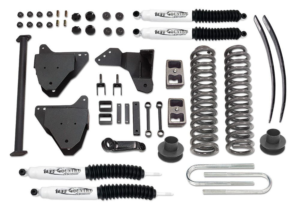 Tuff Country 26974KN 6 Inch Lift Kit 05-07 Ford F250/F350 Super Duty w/ SX8000 Shocks Excludes Dually Models