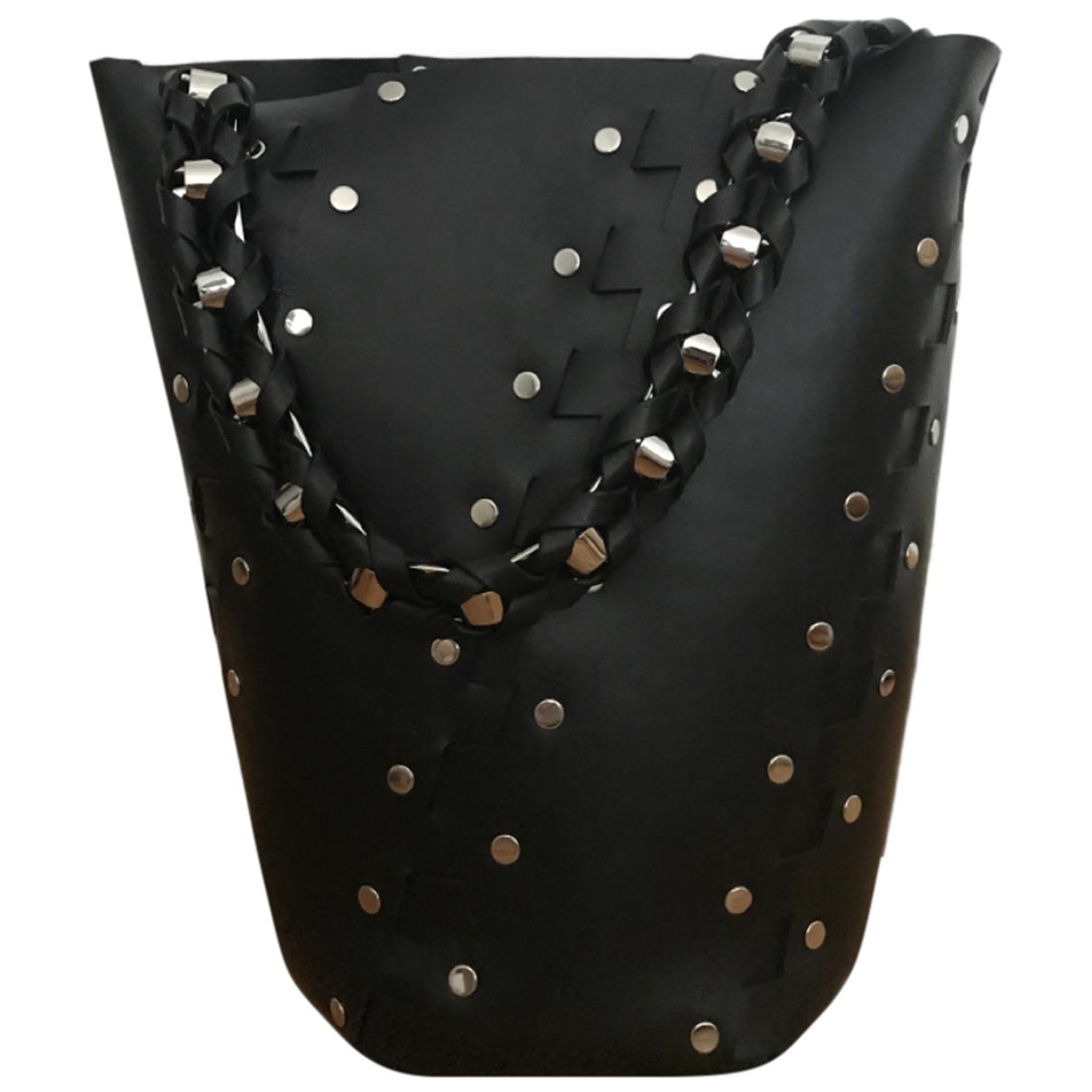 Proenza Schouler Hex Black Leather handbag for Women \N