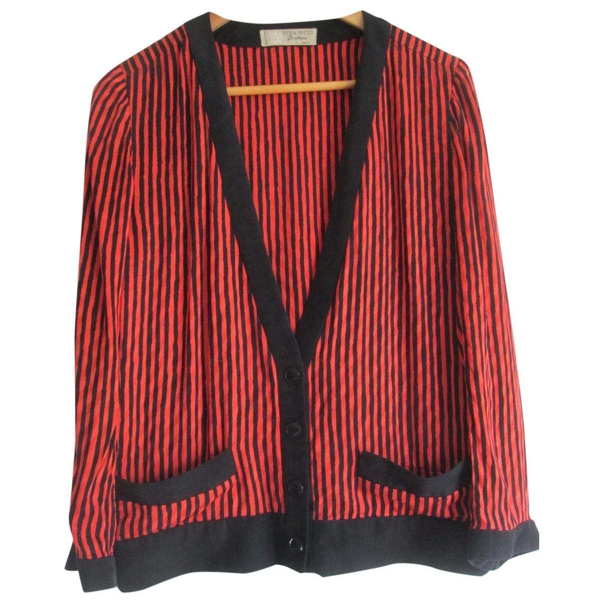 Nina Ricci - Veste   pour femme en soie - multicolore