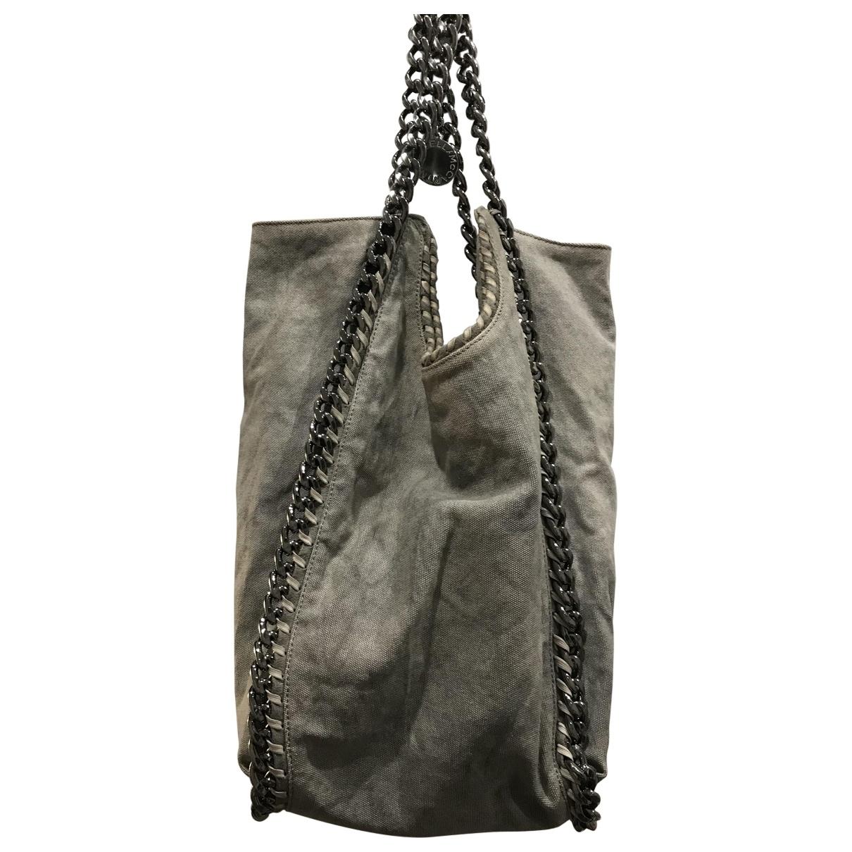 Stella Mccartney Falabella Grey Denim - Jeans handbag for Women \N