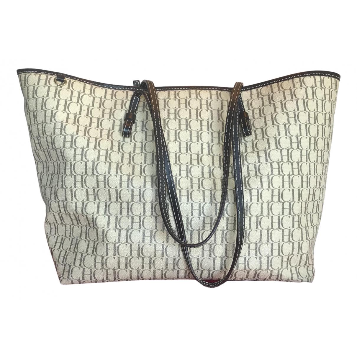 Carolina Herrera \N Beige Leather handbag for Women \N