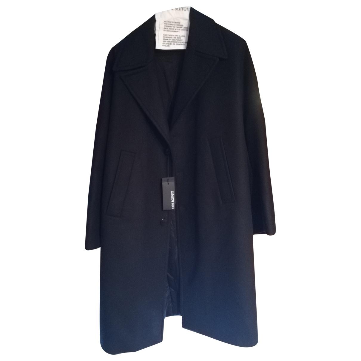 Neil Barrett \N Black Wool coat  for Men 52 FR