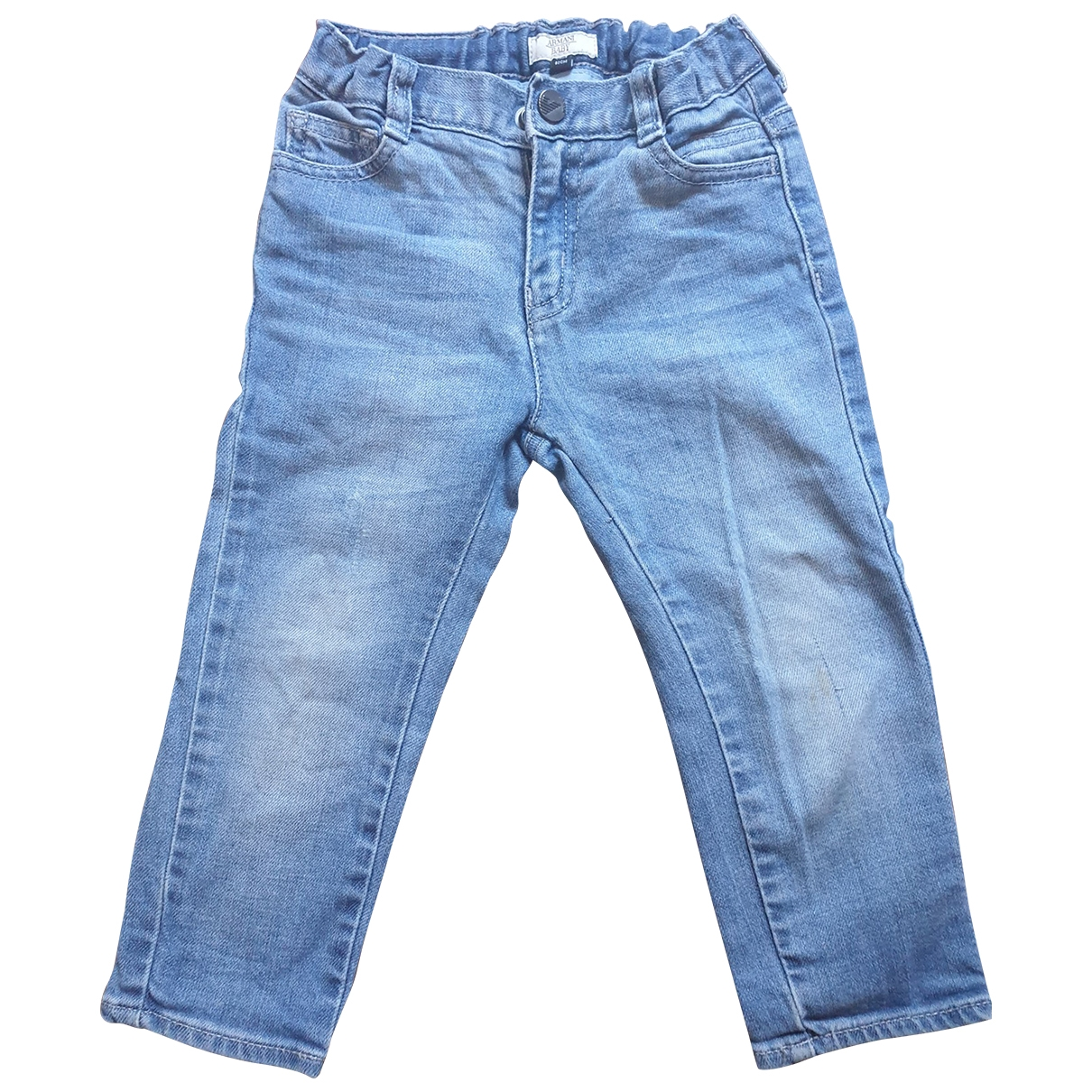 Armani Baby \N Blue Denim - Jeans Trousers for Kids 18 months - up to 81cm FR
