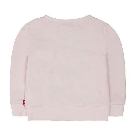 Levi's Baby Girls Long Sleeve Embellished T-Shirt, 18 Months , White