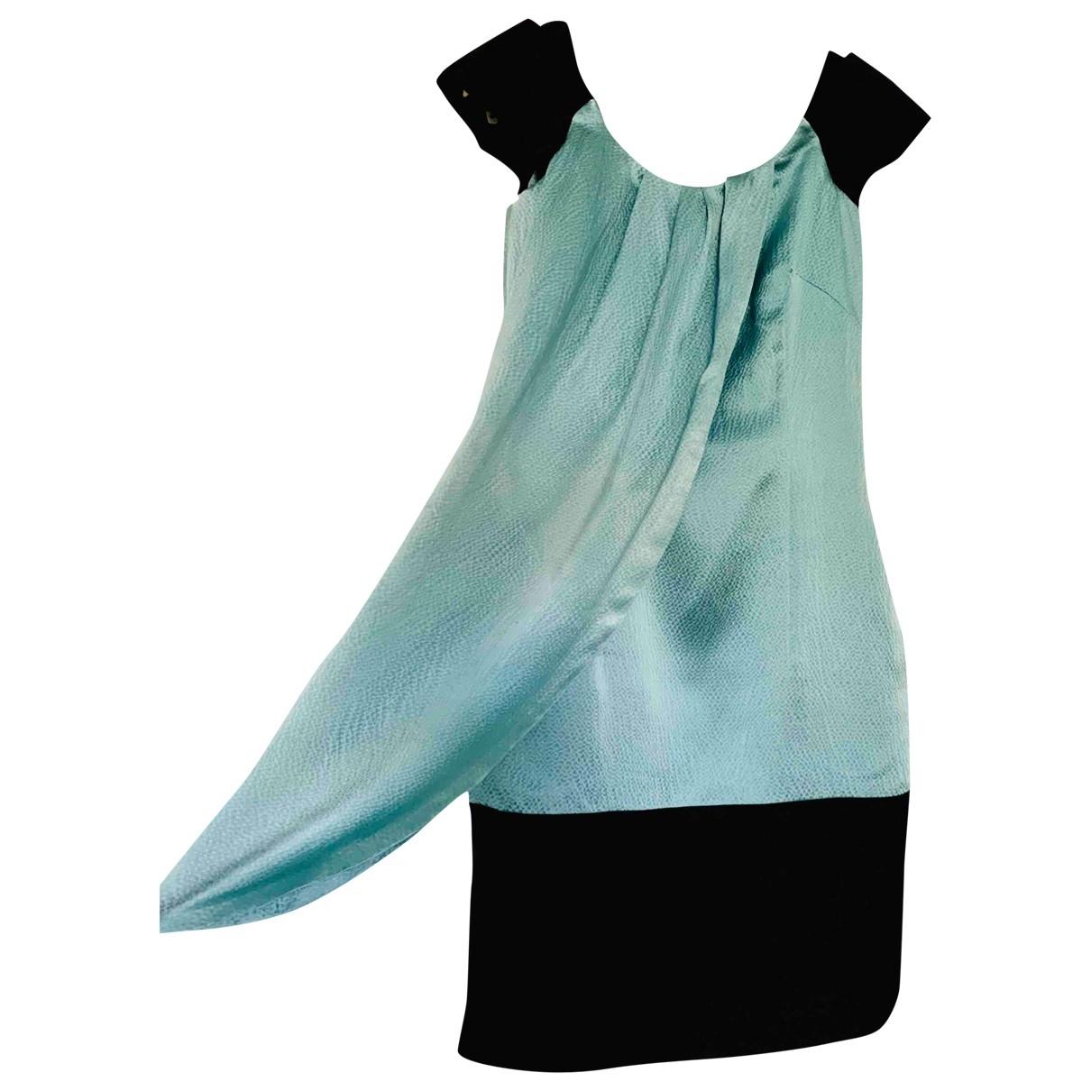Reiss \N Turquoise Silk dress for Women 6 UK