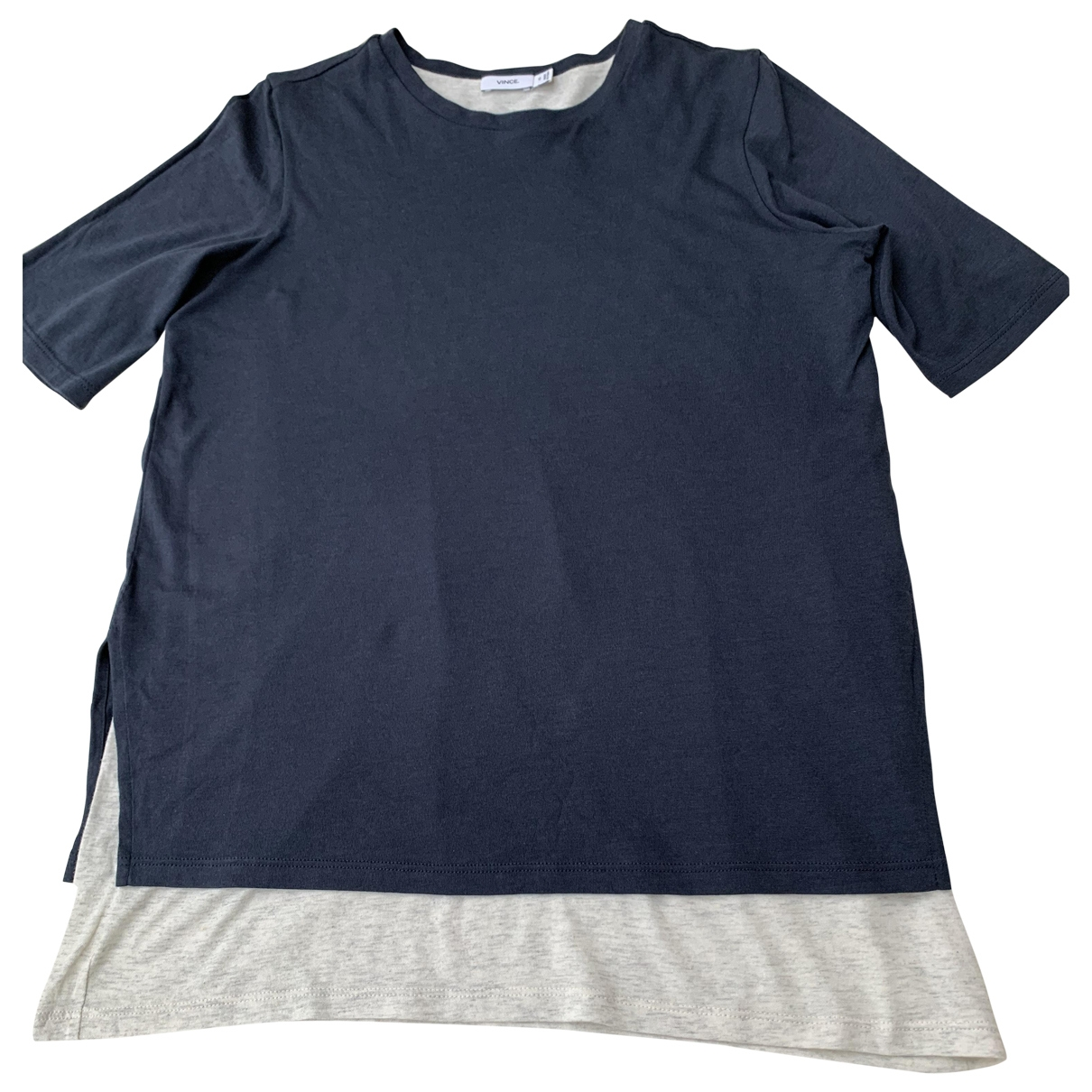 Vince \N Grey Cotton  top for Women 6 UK