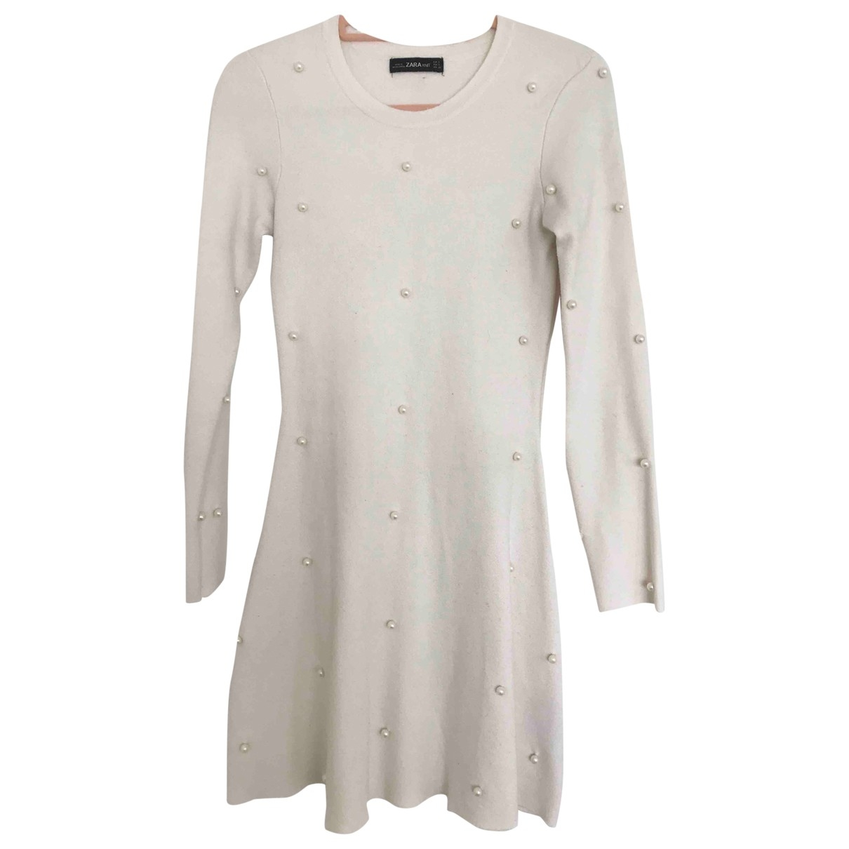 Zara \N Ecru dress for Women S International