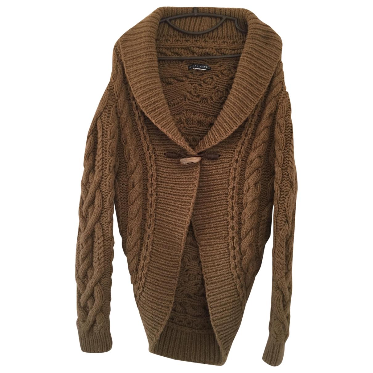 Ralph Lauren \N Pullover in  Kamel Wolle