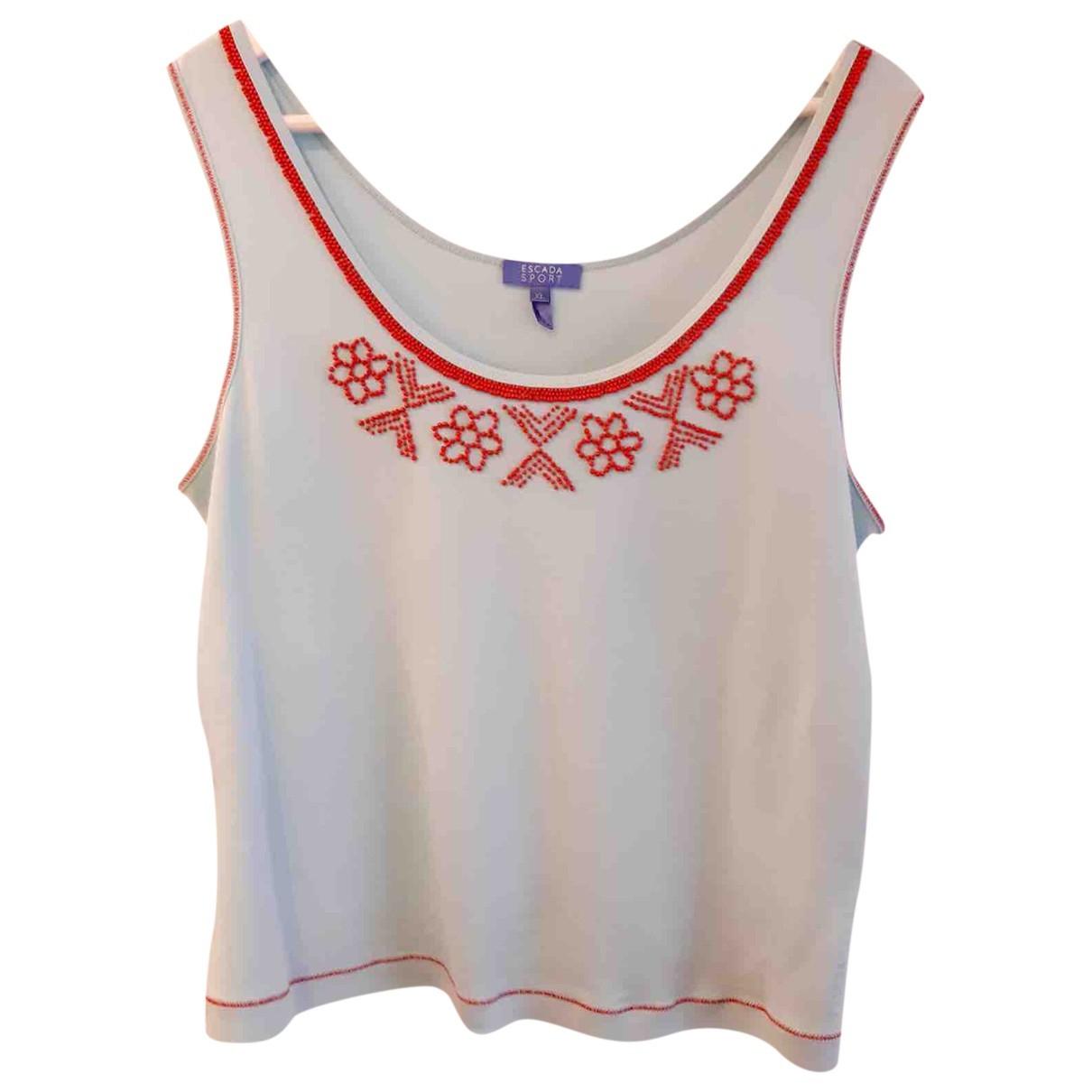 Escada \N Multicolour Cotton  top for Women XL International