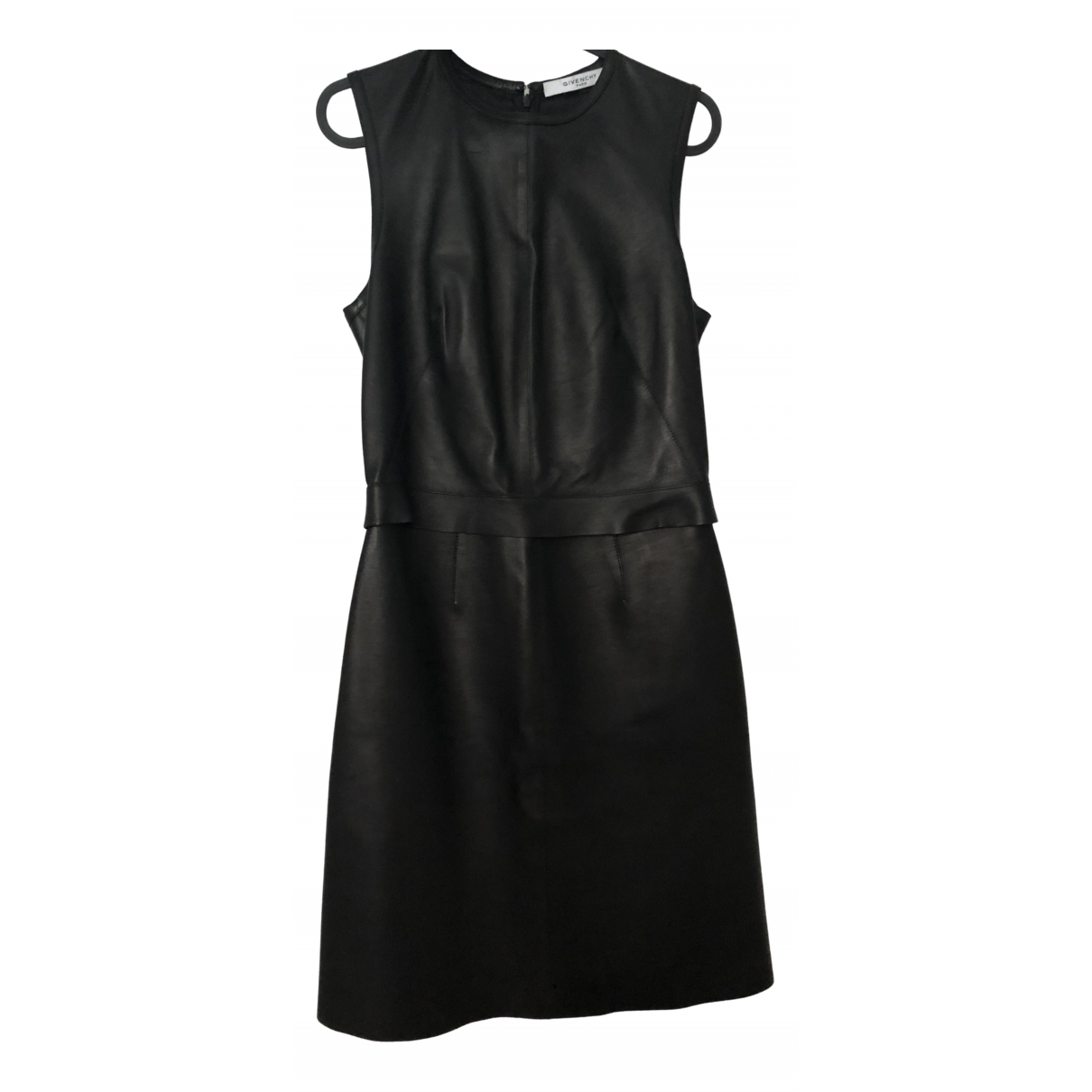 Givenchy N Black Leather dress for Women 38 FR