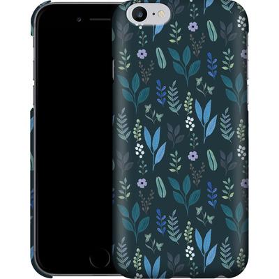 Apple iPhone 6 Plus Smartphone Huelle - Blue Foliage von Iisa Monttinen