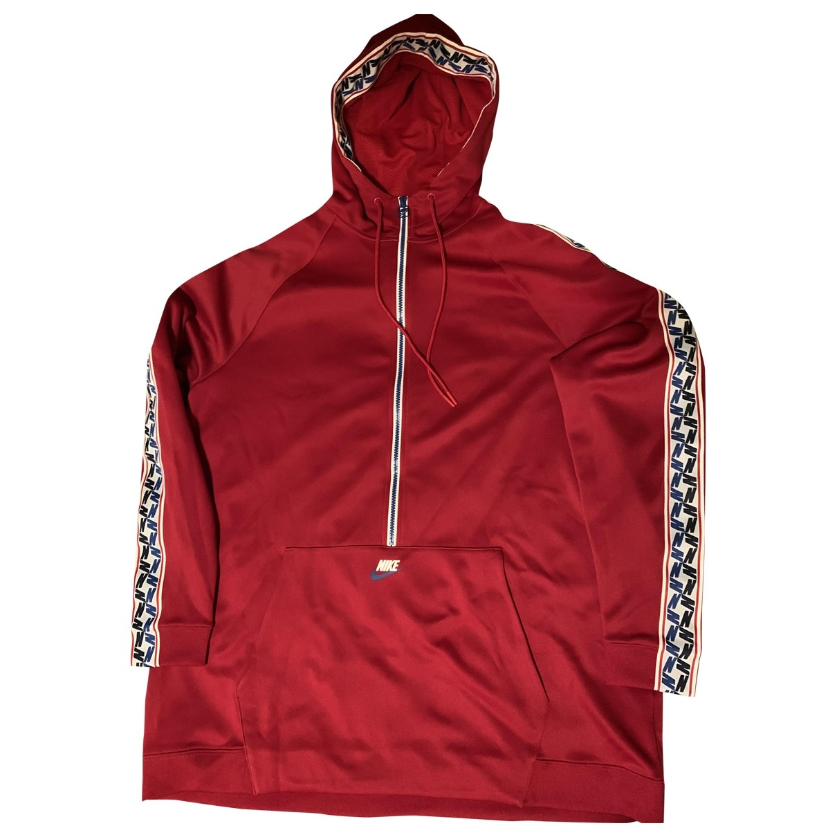 Nike \N Pullover.Westen.Sweatshirts  in  Rot Polyester