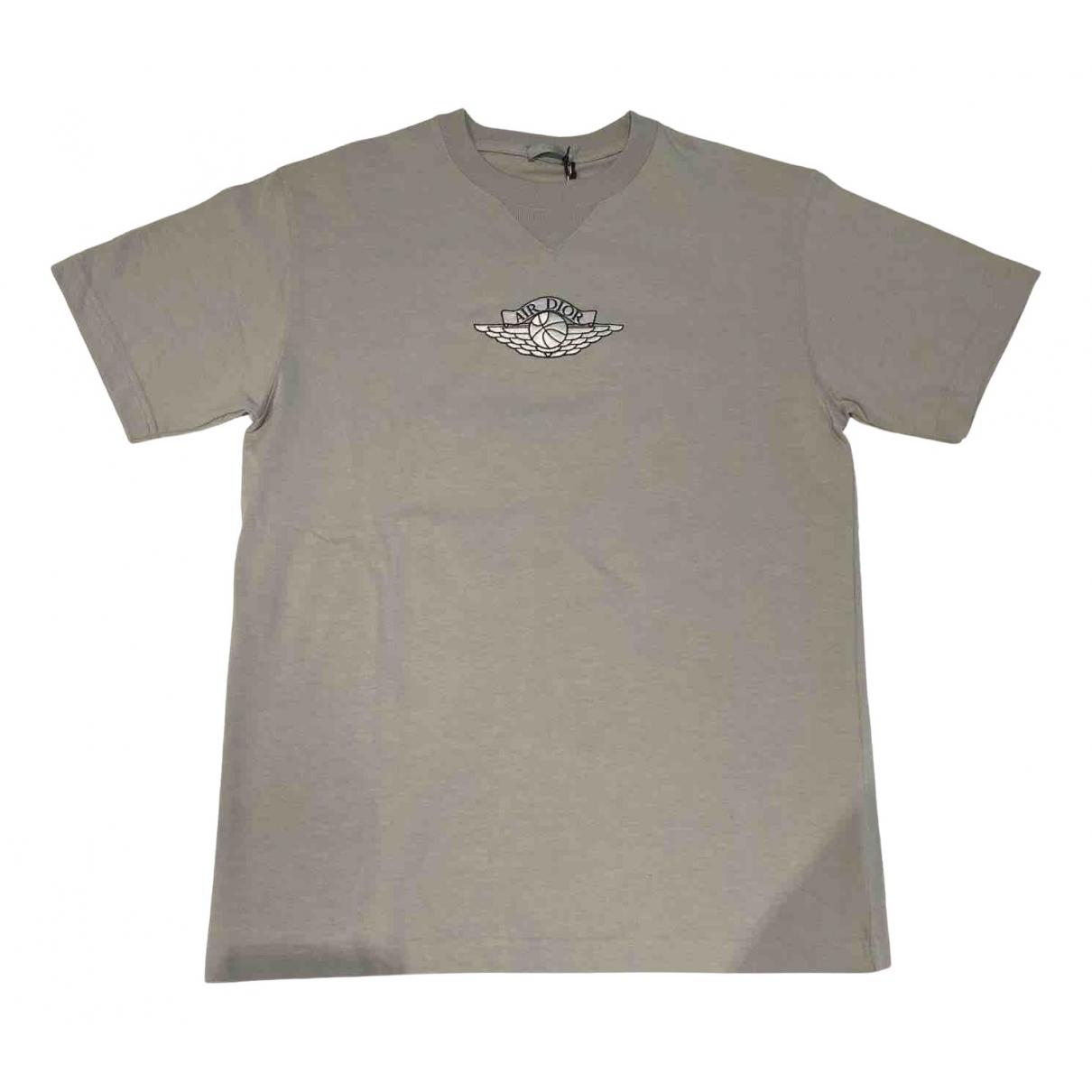 Jordan X Dior - Tee shirts   pour homme en coton - gris