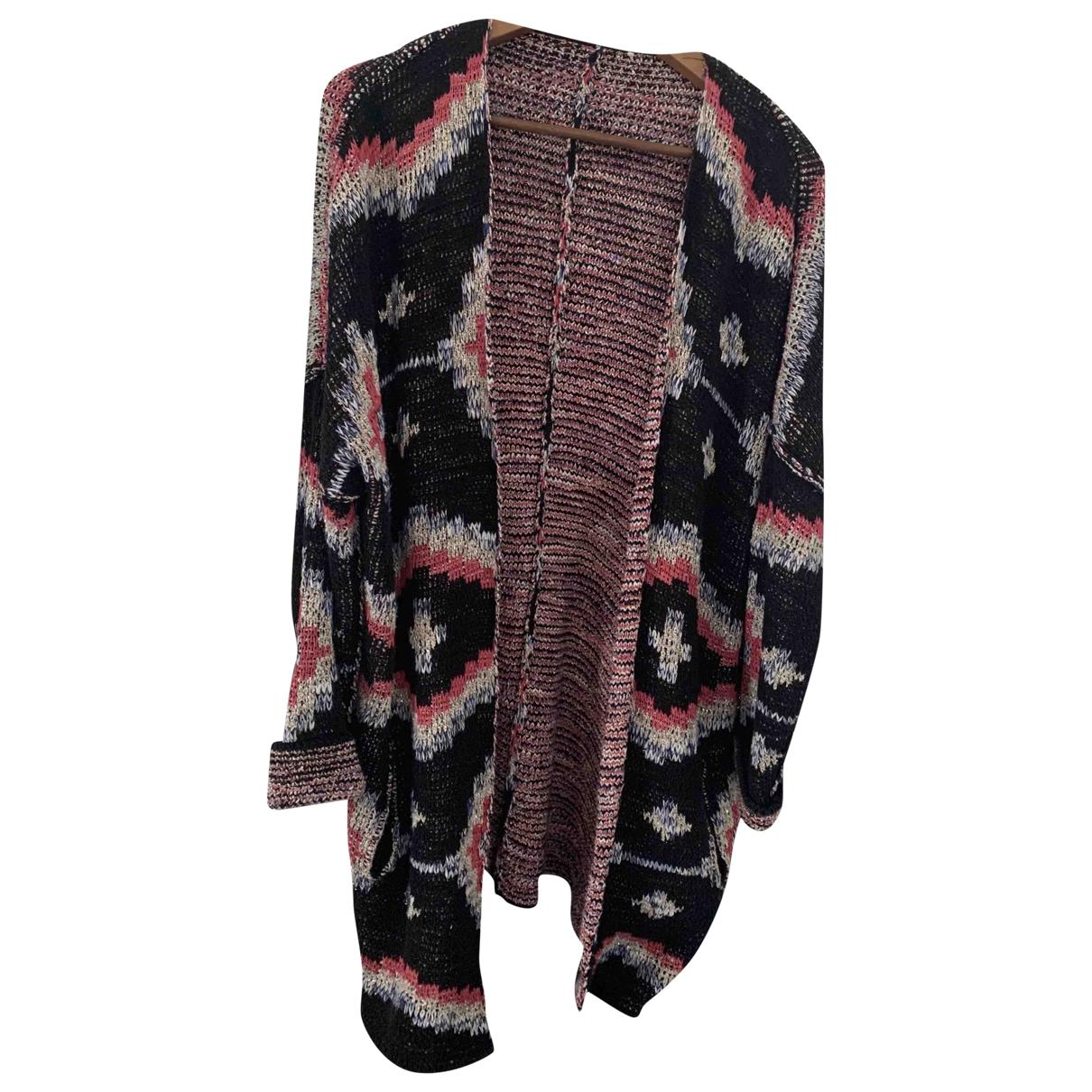 Maje - Pull   pour femme en coton - multicolore