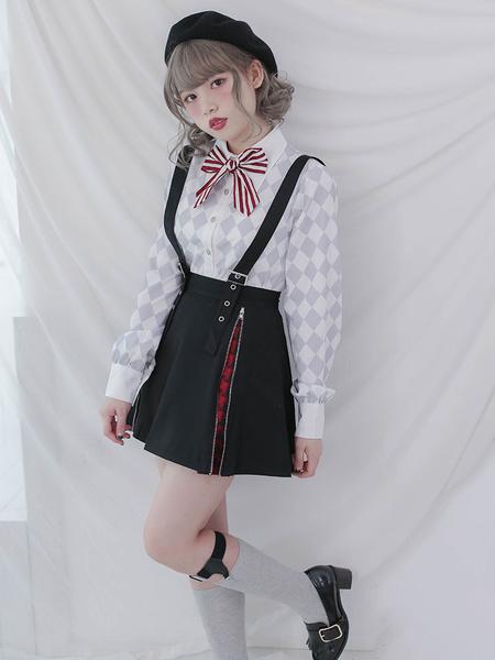 Milanoo Harajuku Lolita Falda Gothic Lolita JSK Vestido