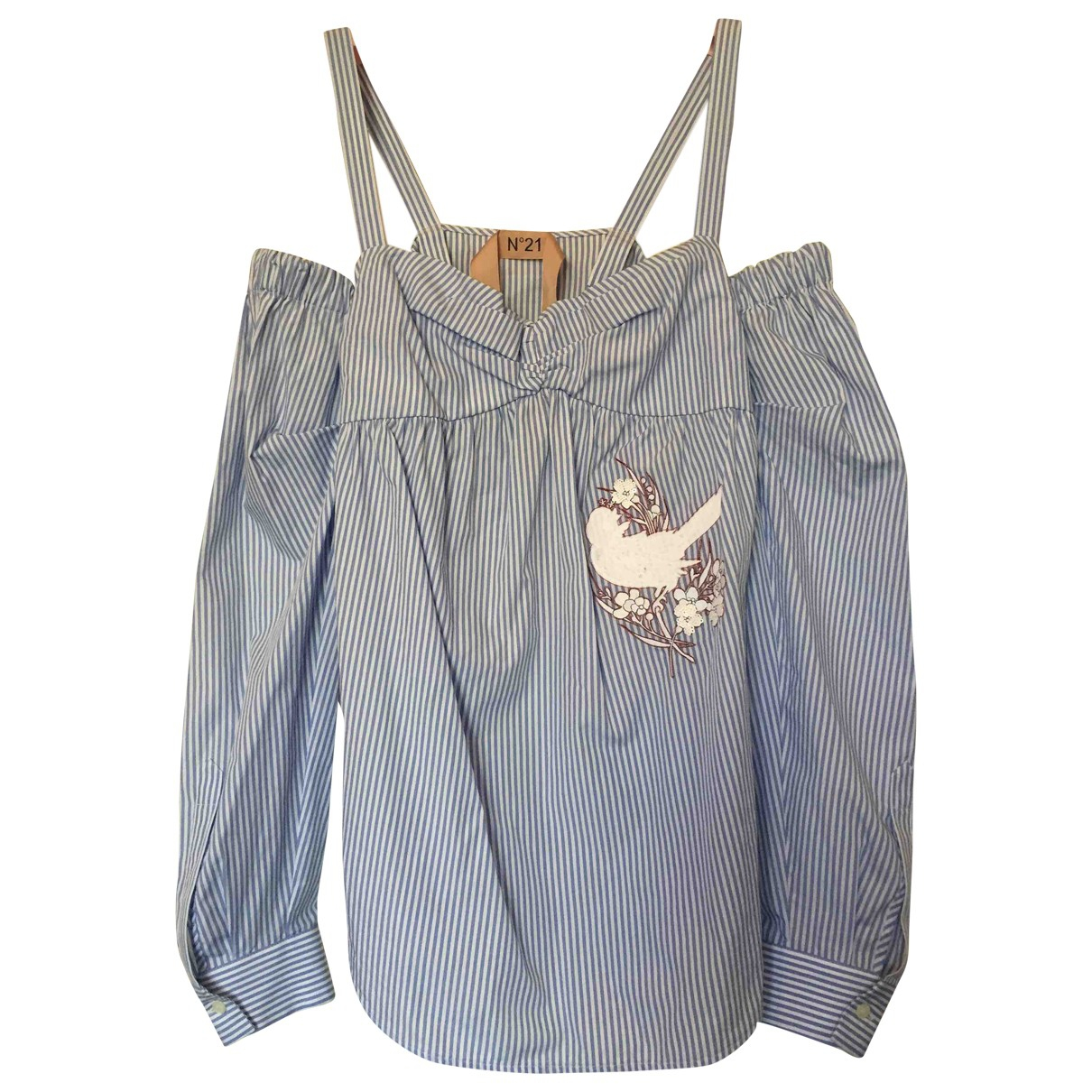 N°21 \N White Cotton  top for Women 38 IT