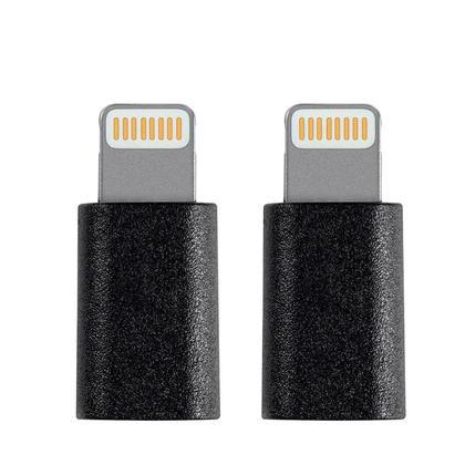 (Lot de 2) Lightning Adaptateur vers Micro USB Certifié Apple - Monoprice®