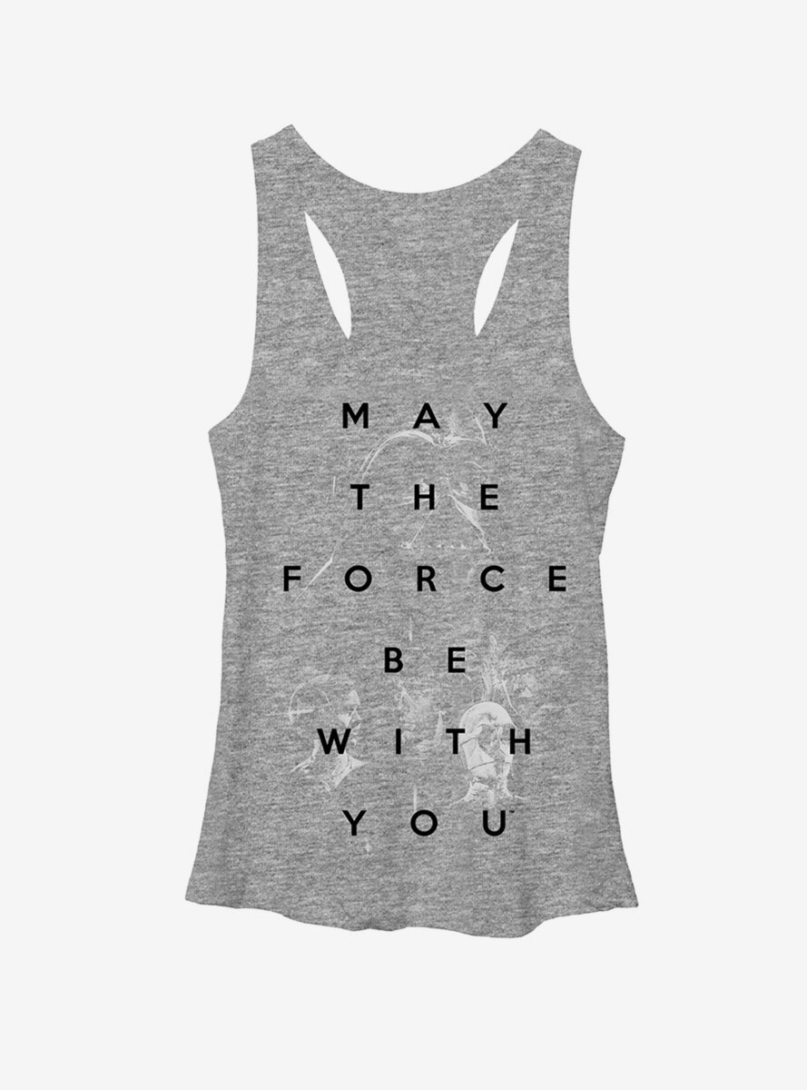 Star Wars May the Force Be With You Womens Tank