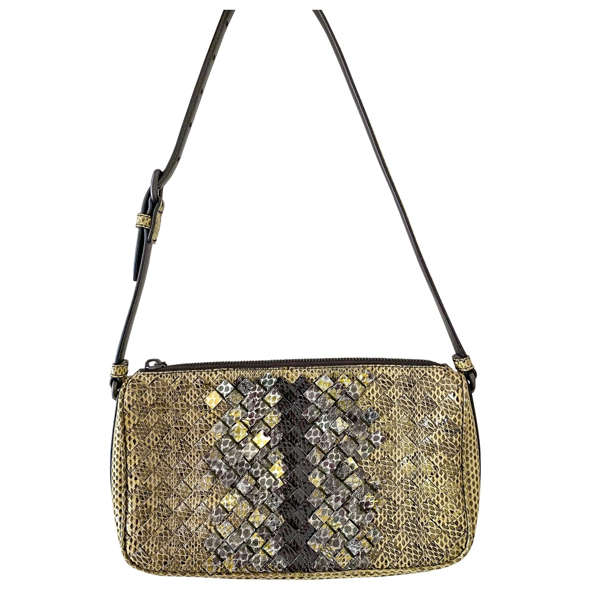 Bottega Veneta \N Green Water snake handbag for Women \N