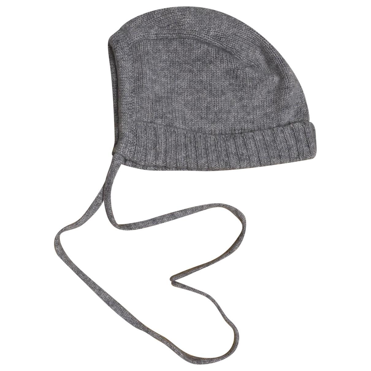 Bonpoint \N Hut, Muetzen, Handschuhe in  Grau Kaschmir