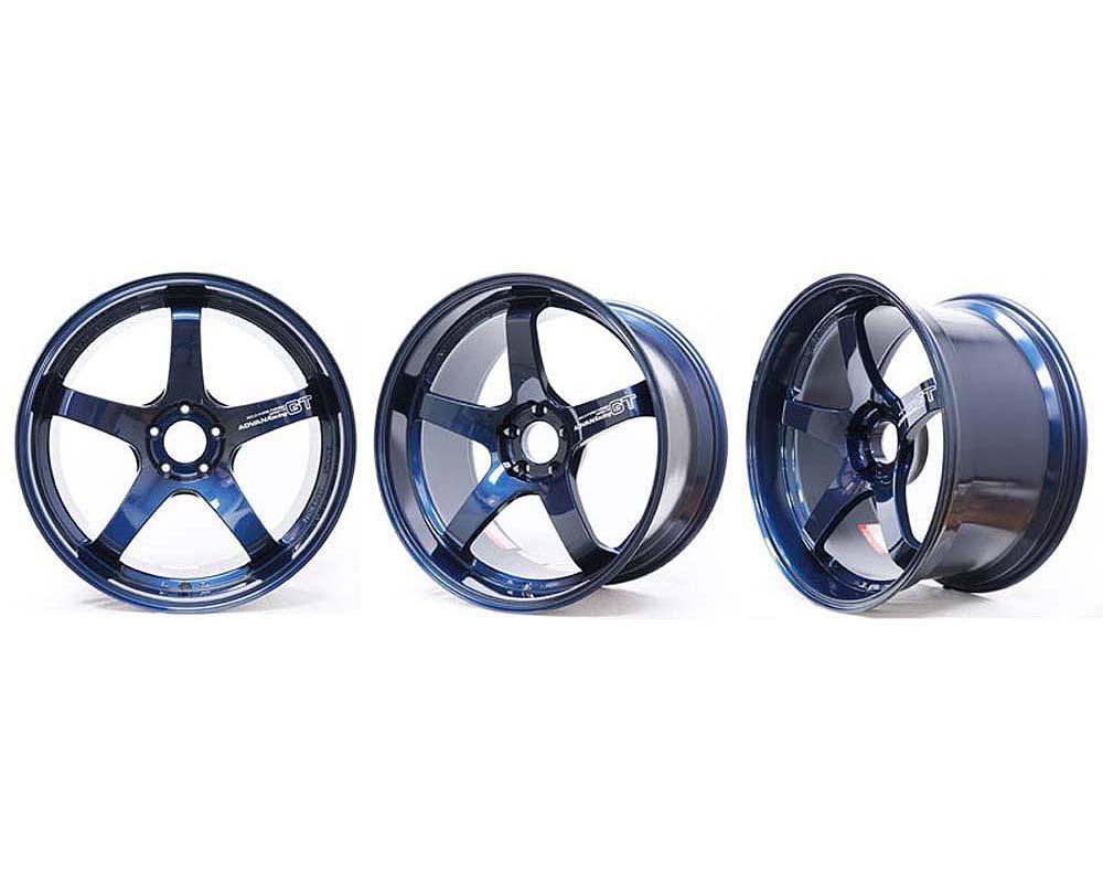 Advan GT Premium Wheel 20X11 5x114.3 +39mm Titanium Blue