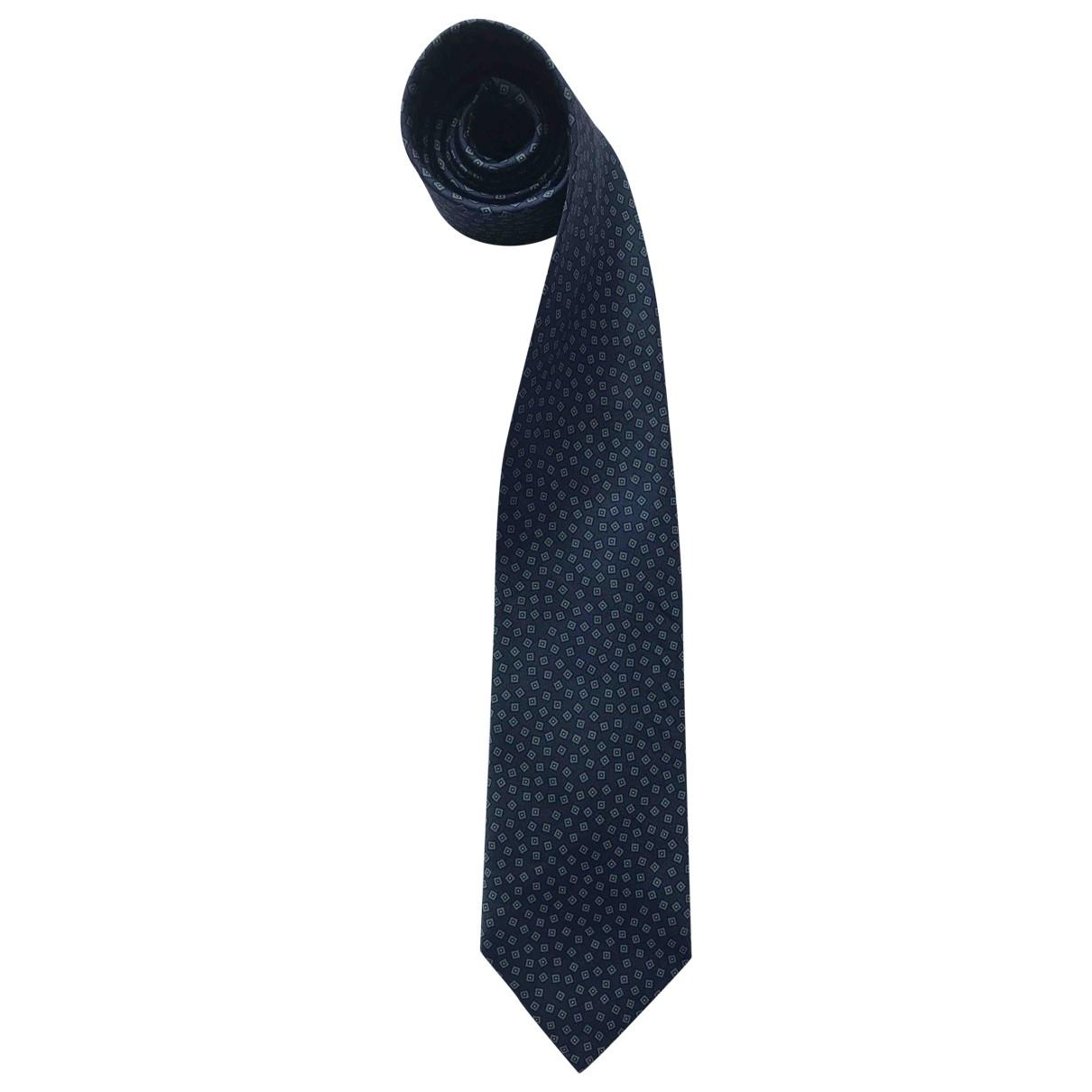 Charvet - Cravates   pour homme en soie - marine