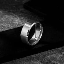 Maenner Ring mit Metall