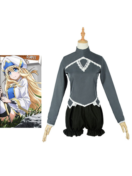 Milanoo Goblin Slayer Priestess Halloween Cosplay Costume Only Underwear
