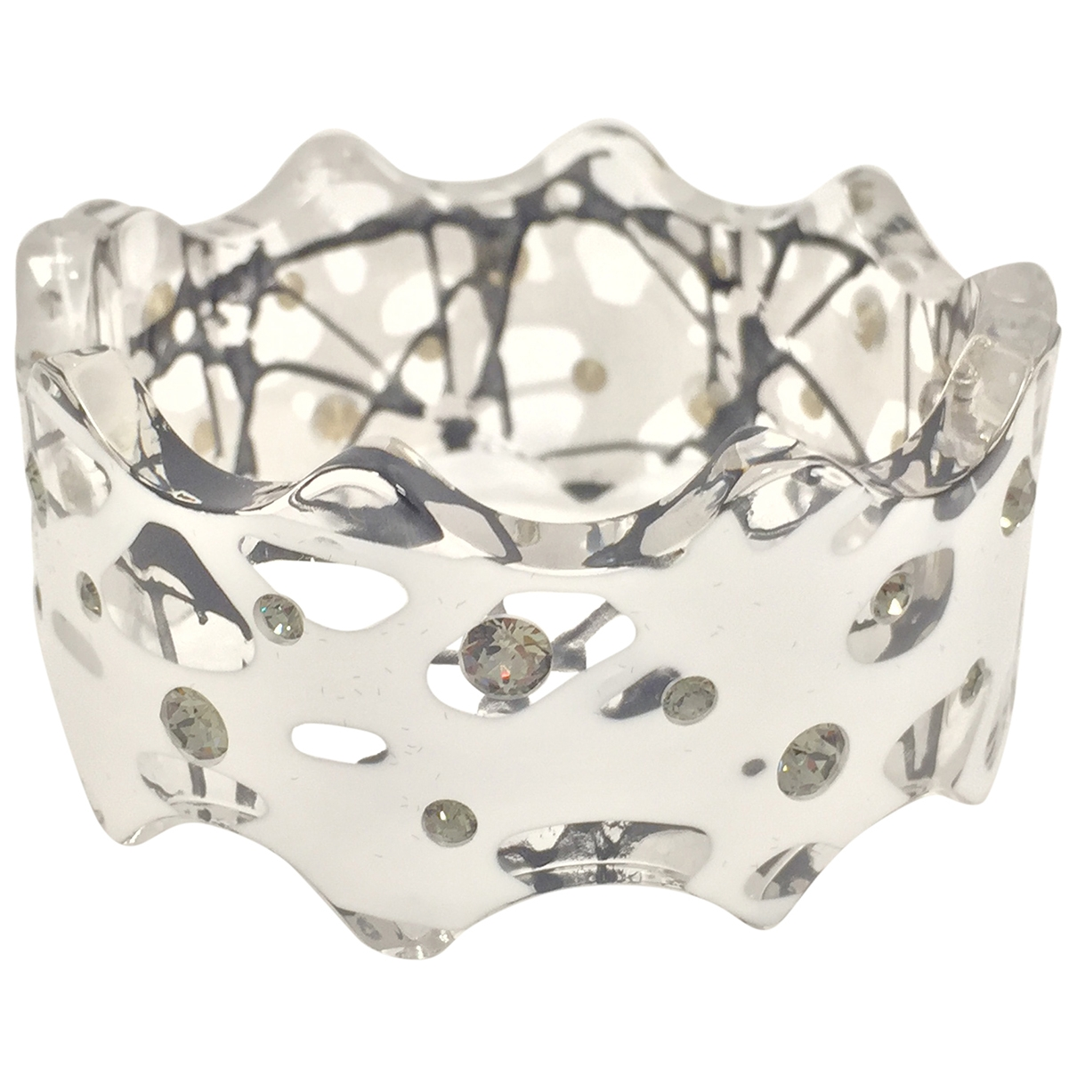 Christopher Kane \N Armband in  Weiss Metall