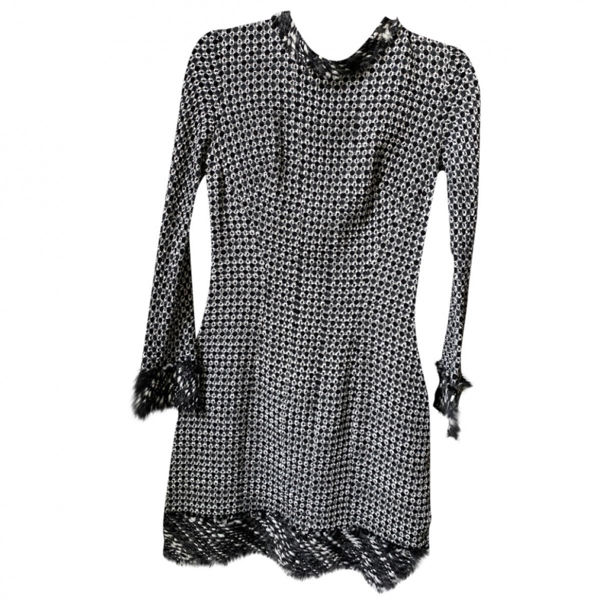 Nina Ricci - Robe   pour femme en soie - multicolore