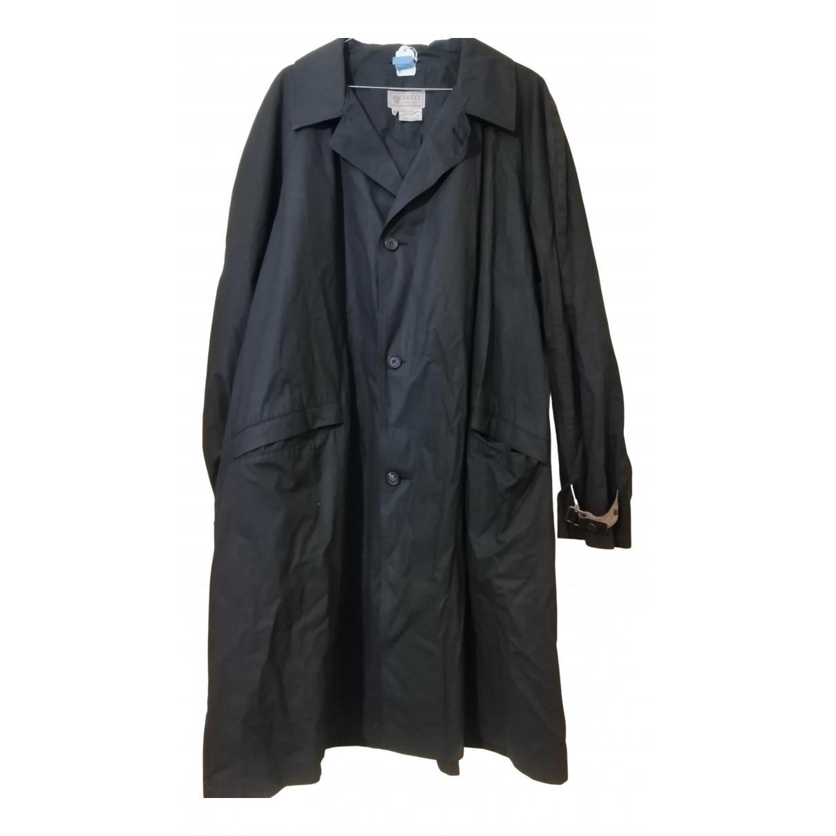 Gucci - Manteau   pour homme en coton - marine