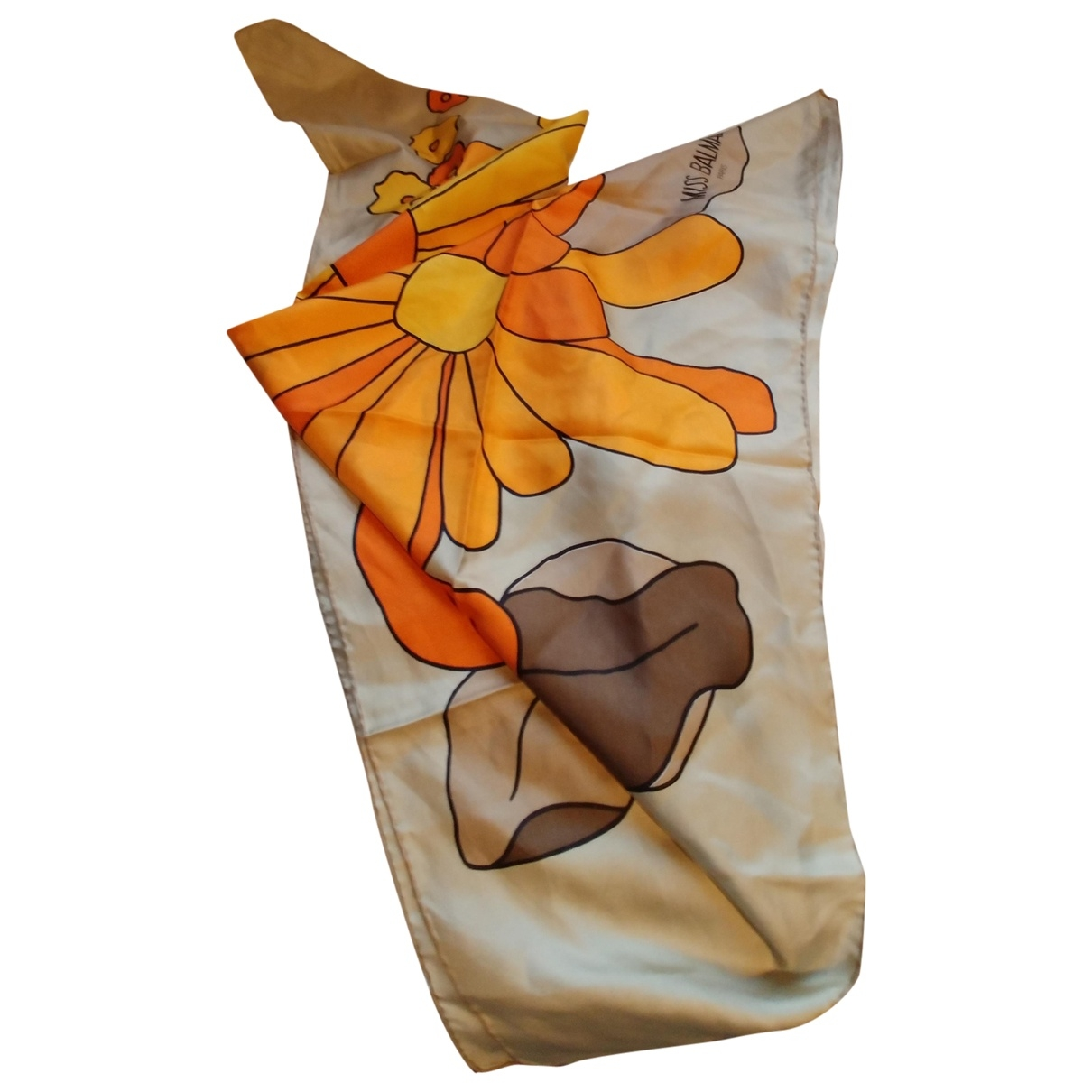 Balmain \N Multicolour Silk scarf for Women \N