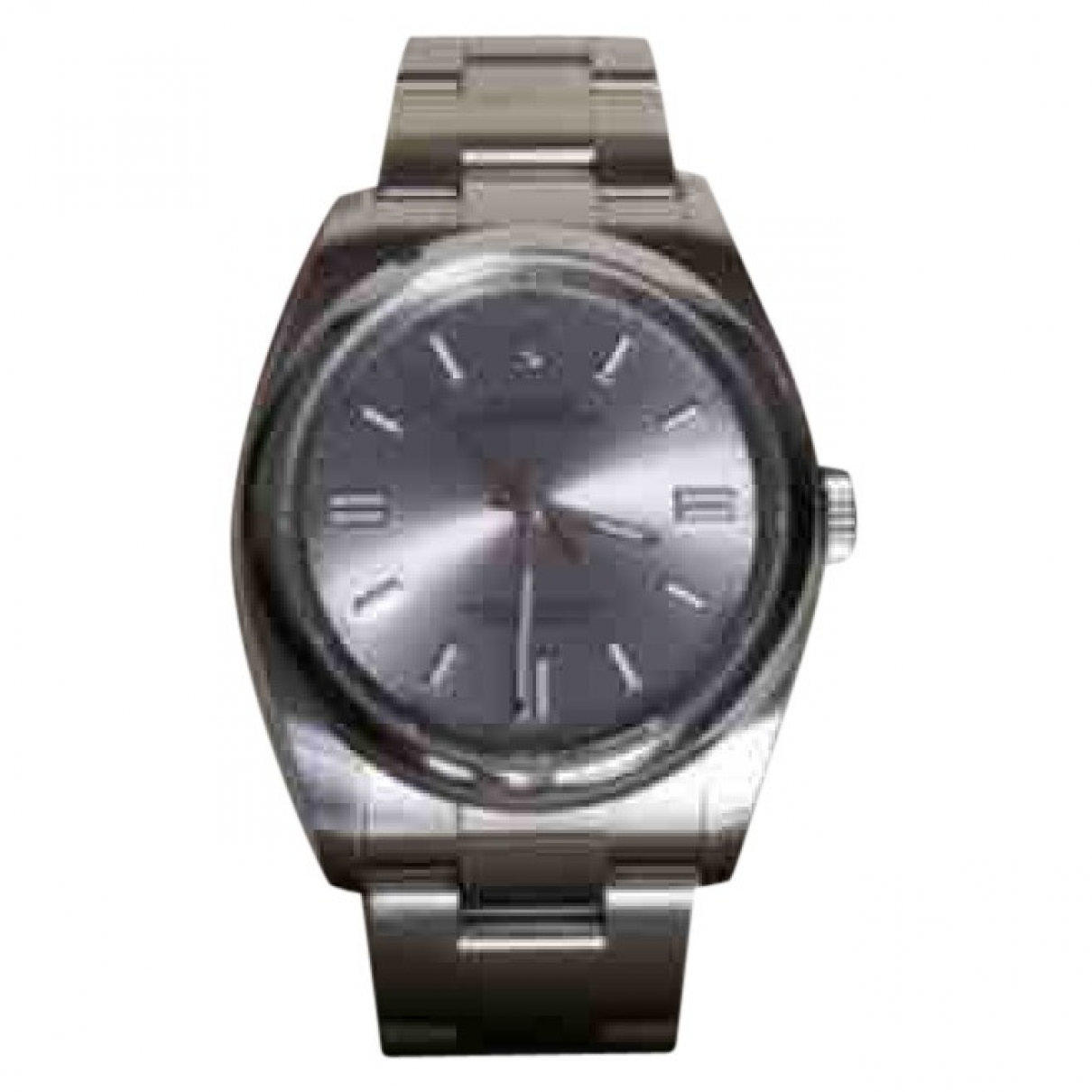 Rolex Oyster Perpetual 36mm Uhr in  Silber Stahl