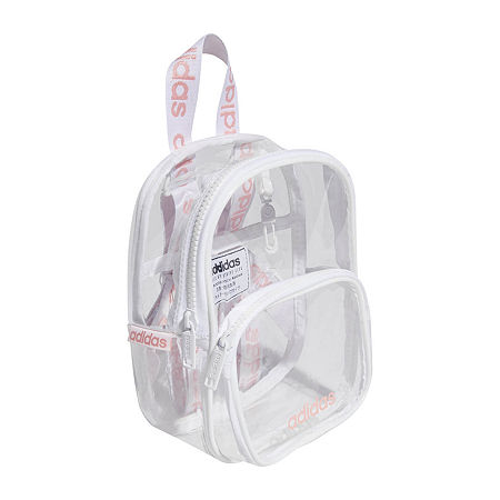 adidas Clear Mini Backpack Shoulder Bag, One Size , No Color Family