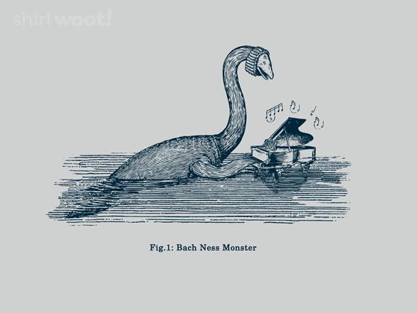 Bach Ness Monster T Shirt