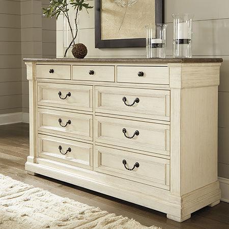 Signature Design by Ashley Roanoke Dresser, One Size , White