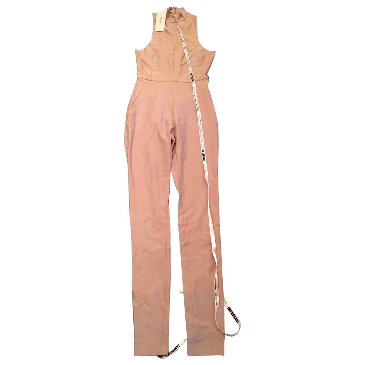 House Of Cb \N Jumpsuit in  Beige Polyester