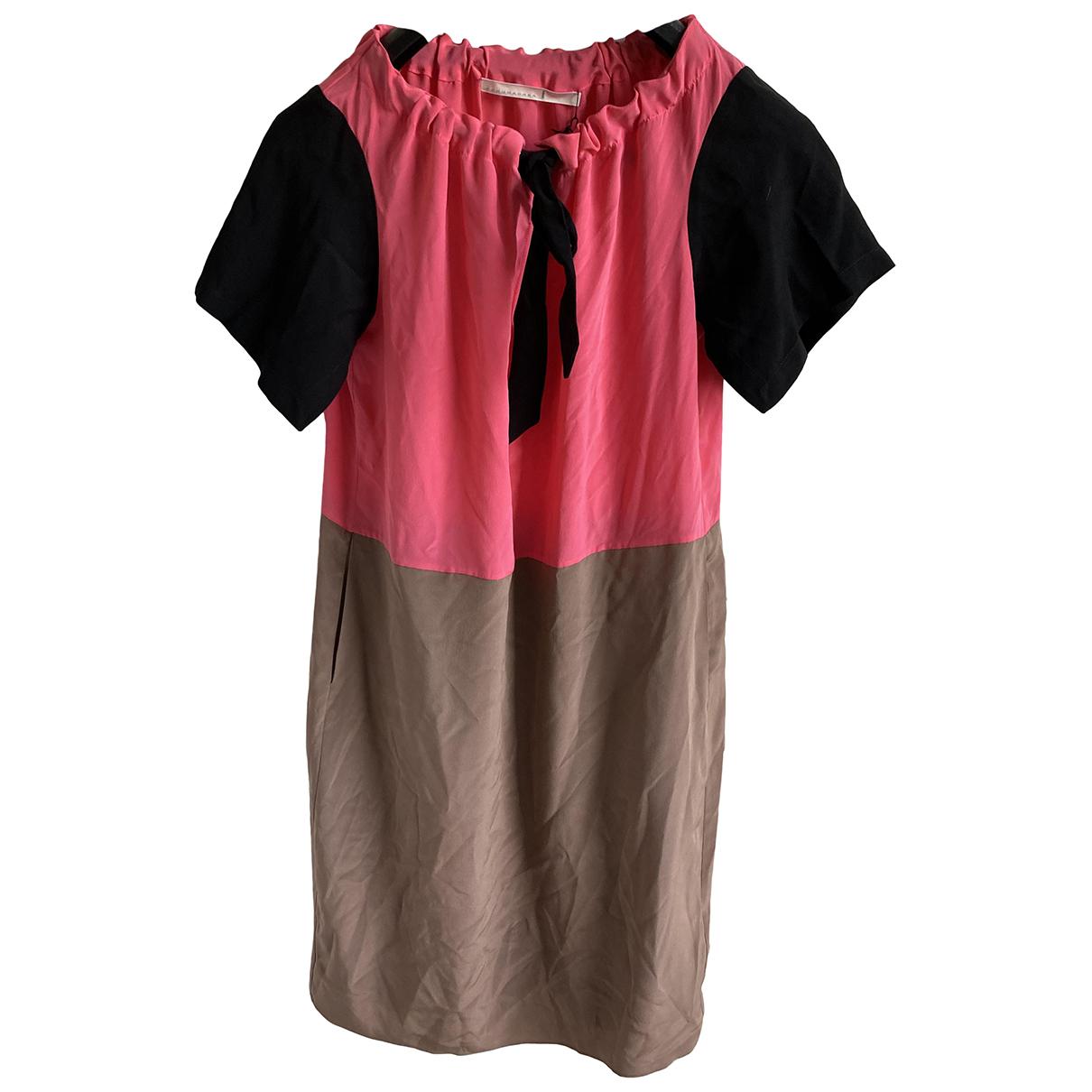 Schumacher - Robe   pour femme en soie - multicolore