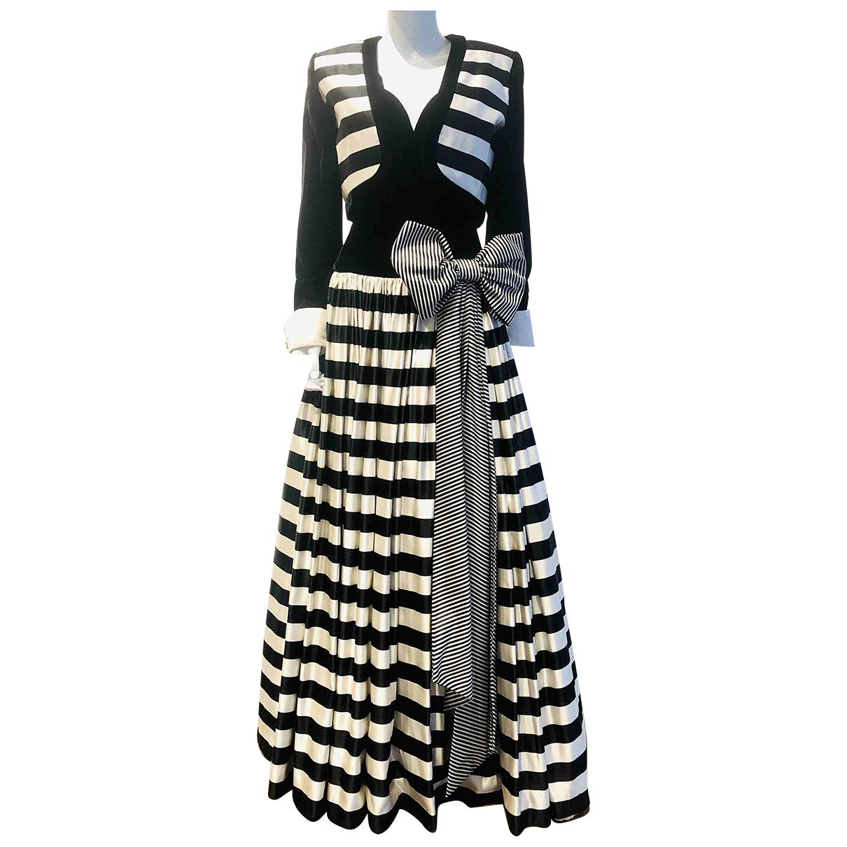 Escada - Robe   pour femme en soie - noir