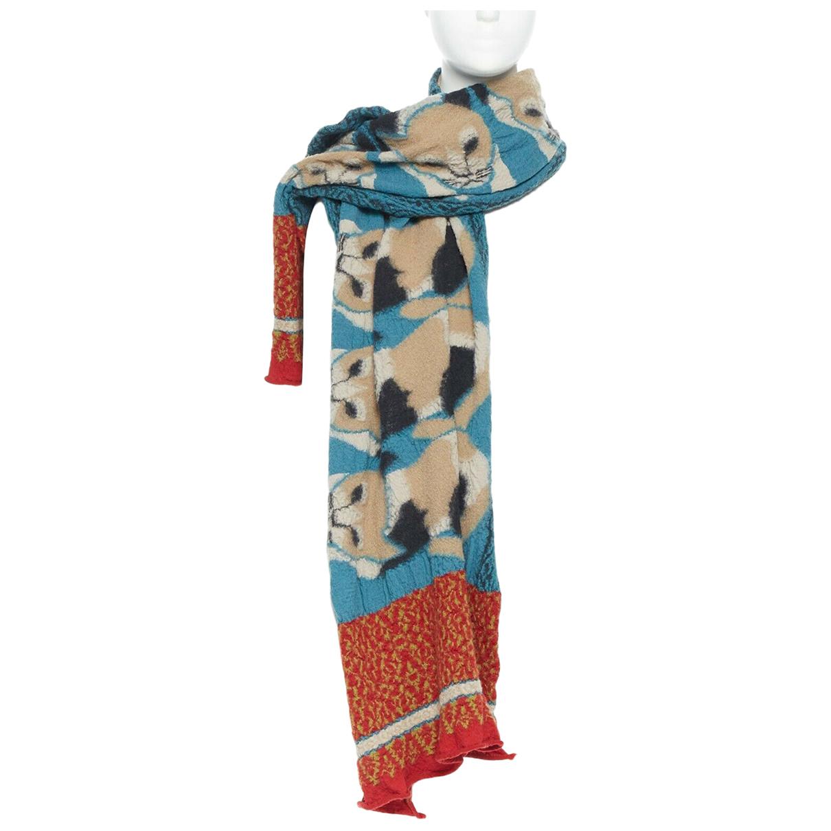 Kapital - Foulard   pour femme en laine - multicolore