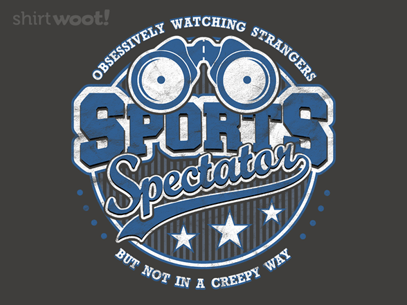 Sports Spectator T Shirt