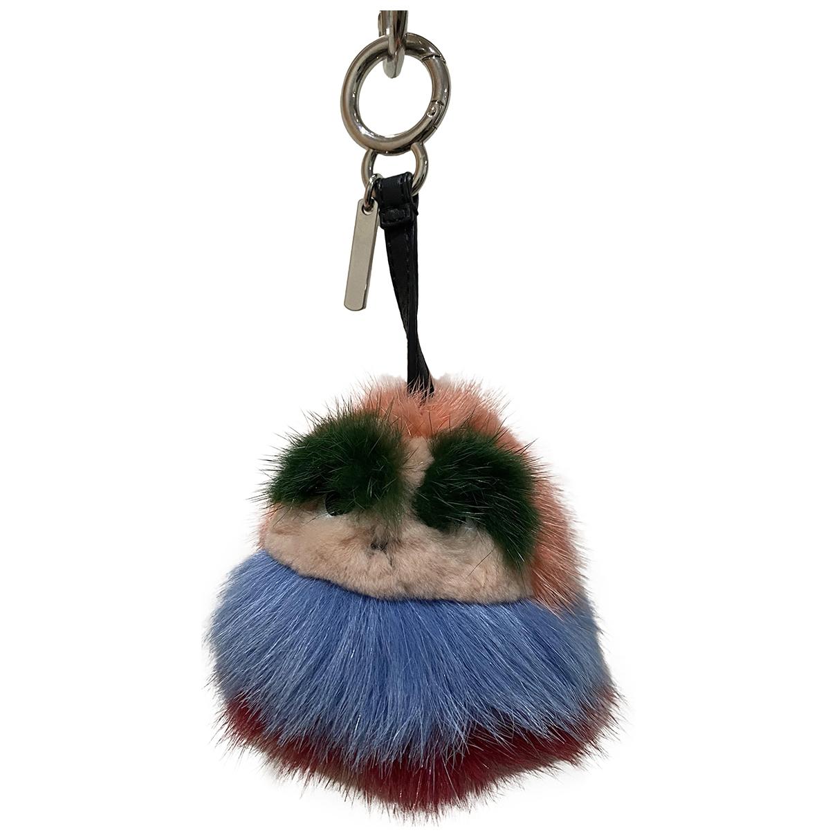 Fendi - Bijoux de sac Bag Bug pour femme en vison - multicolore