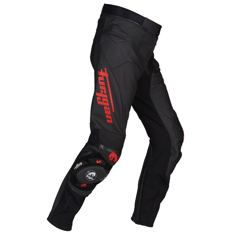 Furygan Raptor Evo Black Red Motorcycle Pants 44