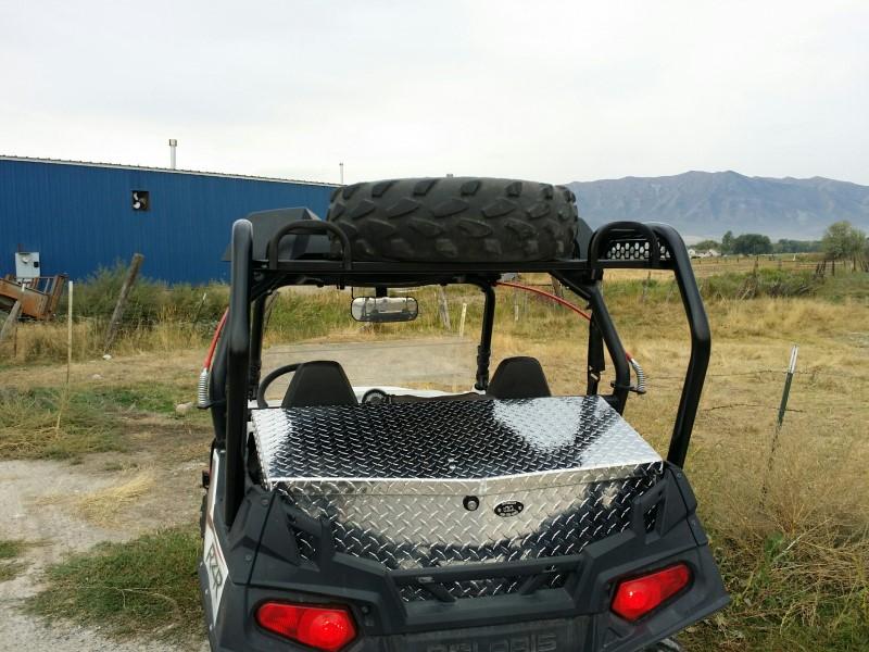 Ryfab CRSPT Spare Tire Steel Cargo Racks