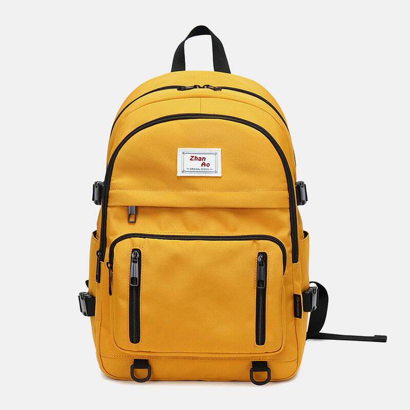 Nylon Large Capacity Waterproof Casual Computer Bag Backpack