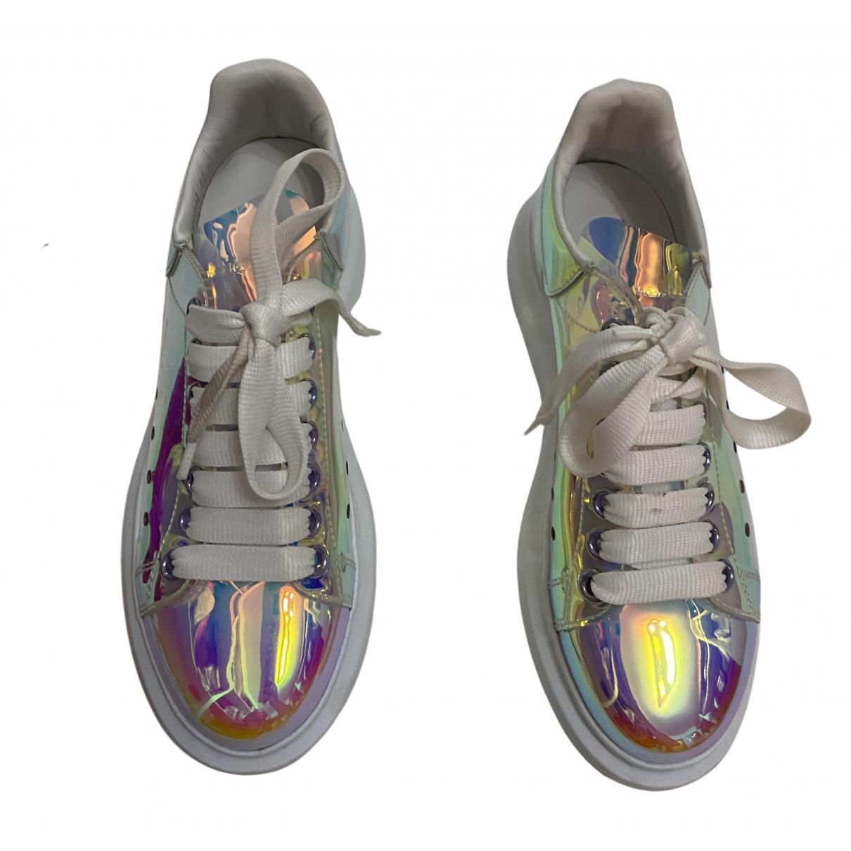 Alexander Mcqueen Oversize Sneakers in  Bunt Kunststoff