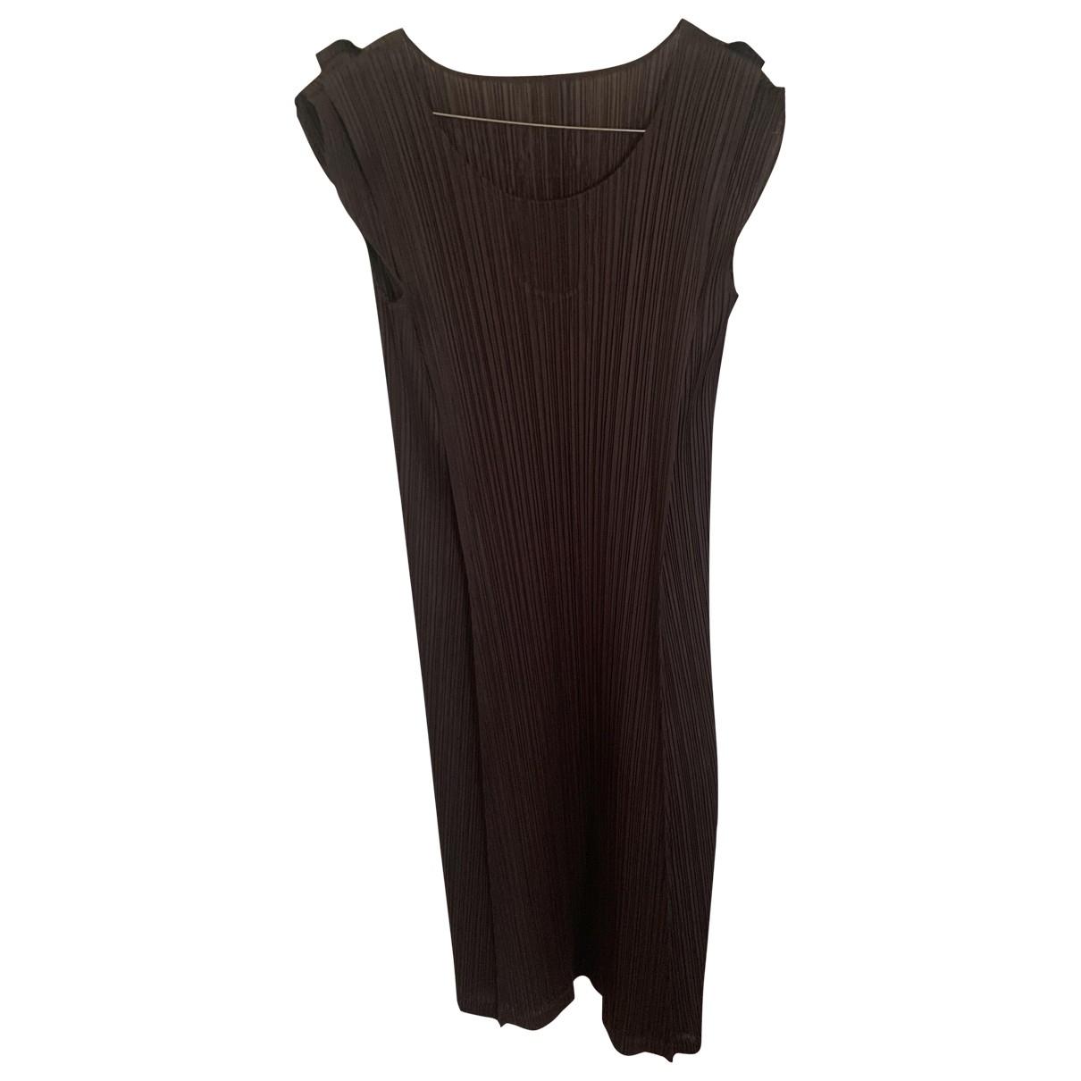 Pleats Please \N Brown dress for Women 40 FR