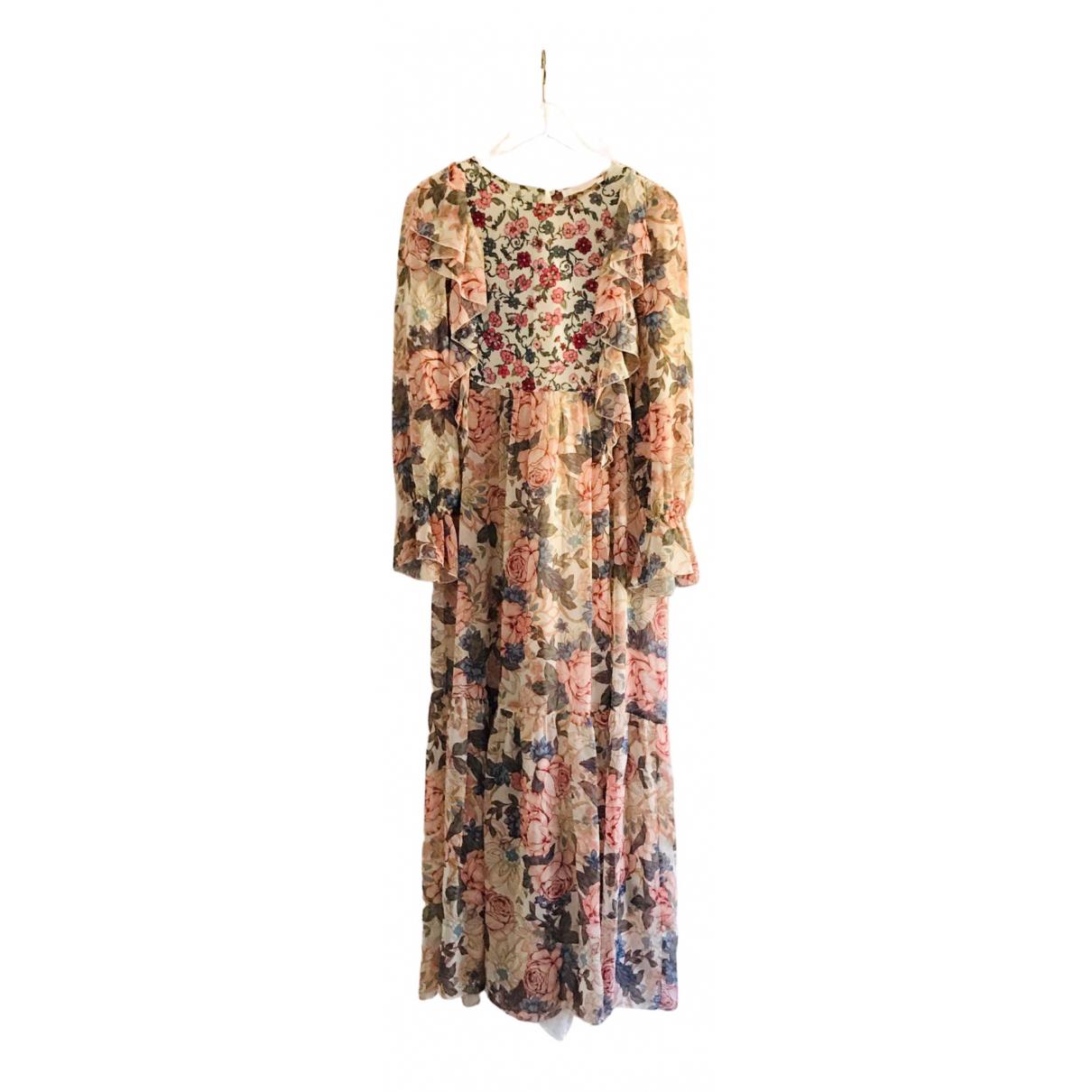 See By Chloe - Robe   pour femme en soie - multicolore