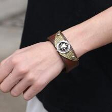 Maenner Einfaches PU Leder Armband
