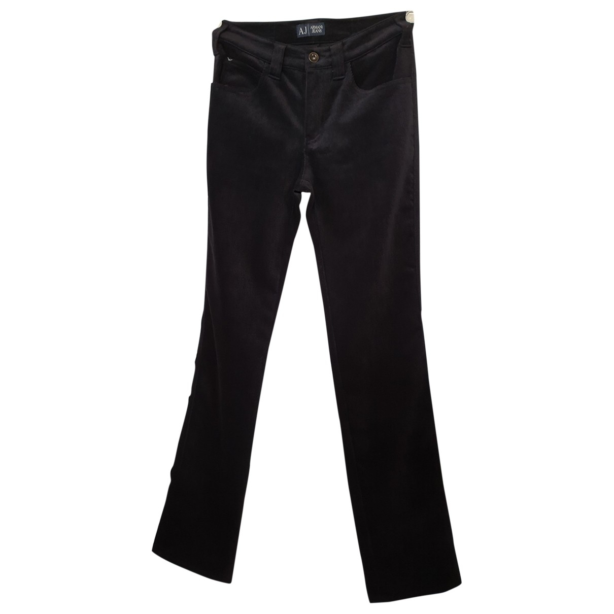 Armani Jeans \N Blue Trousers for Women 4 US